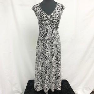3/$25 Jones Wear Leopard Print Maxi Dress 18